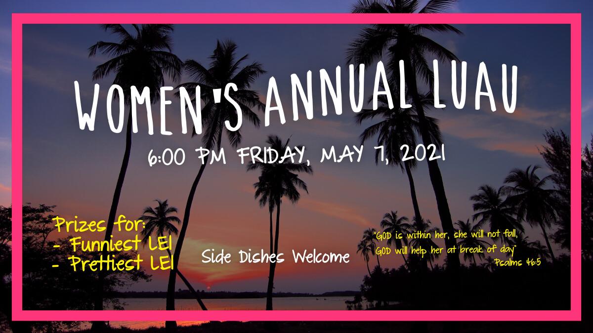 Women's Annual Luau
