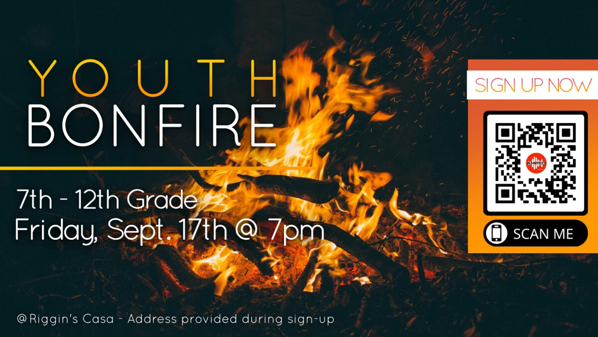 AMPED Youth Bonfire
